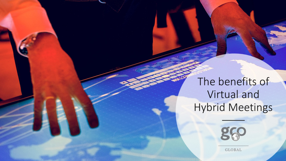The benefits of Meeting Hybrid or Virtual